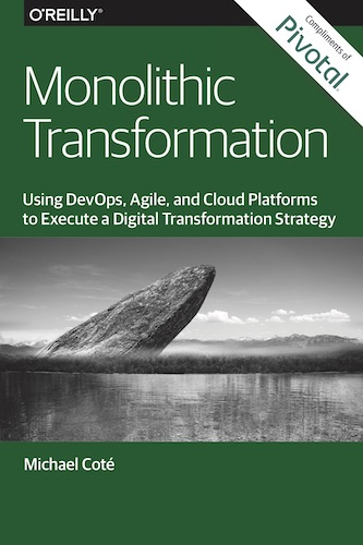 Monolithic Transformation cover